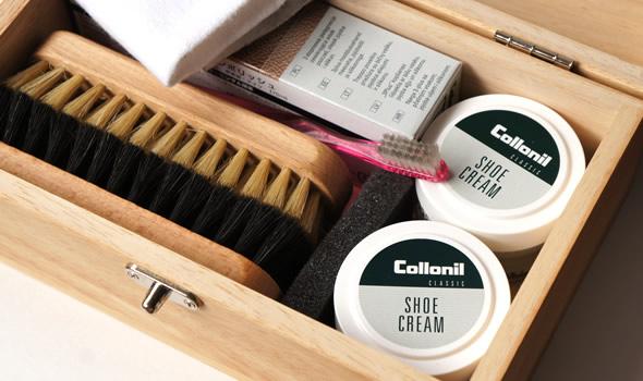 コロニル(Collonil)シューケアキット 木箱セット